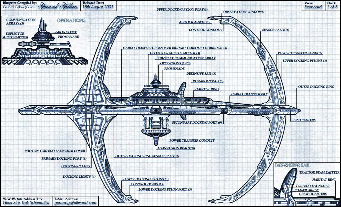 Classified starfleet blueprints sciox Image collections